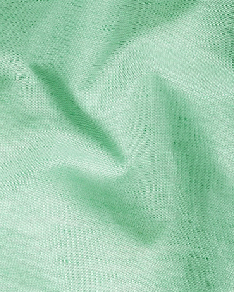 Mint Green luxurious Linen Shirt