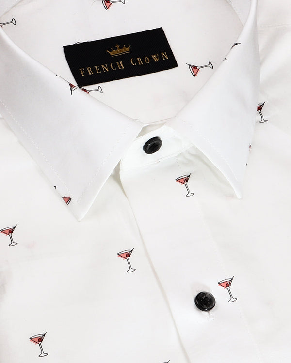 The Cocktail Premium cotton Shirt