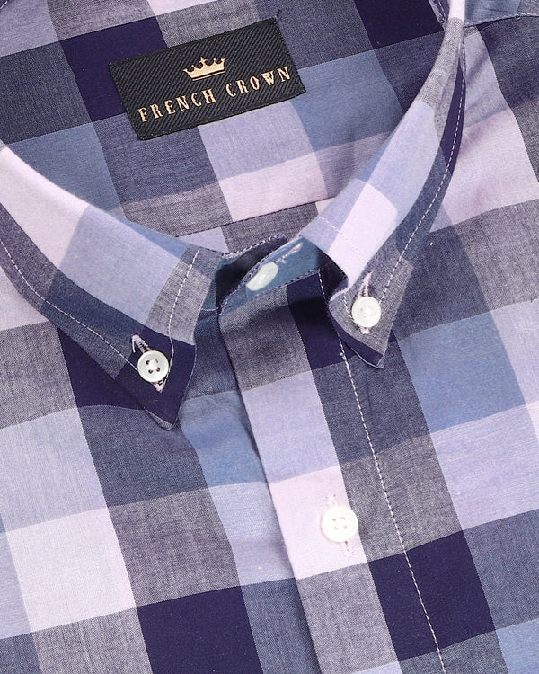 Muted Multi-color Checked Lightweight Premium Cotton Shirt