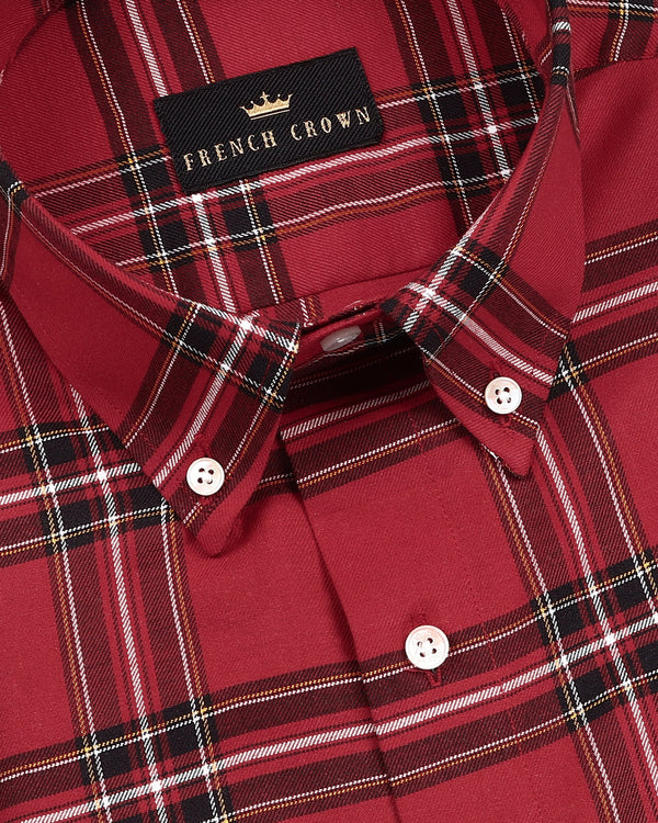 Candy Red Premium Cotton SHIRT