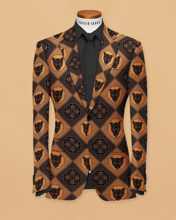 The Jaguar Print Designer Blazer