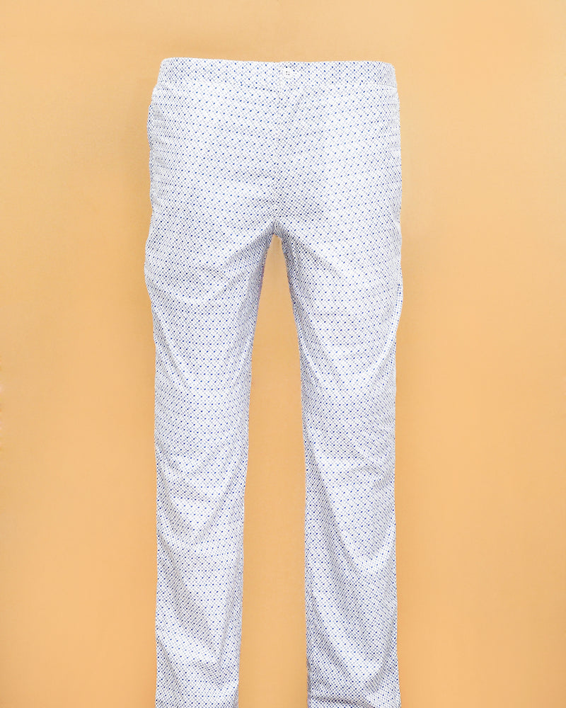 Black Printed and White Printed Lounge Pants