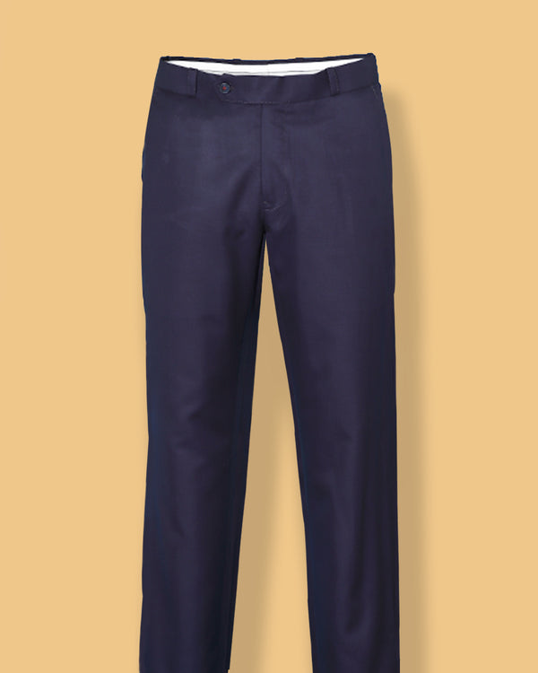 Electric Indigo regular fit Formal Pant