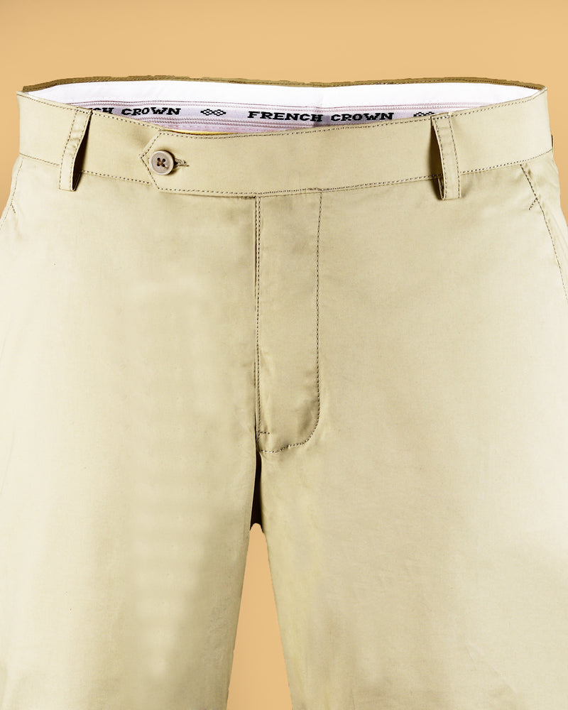 Buttery Cream lightweight Cotton Chino
