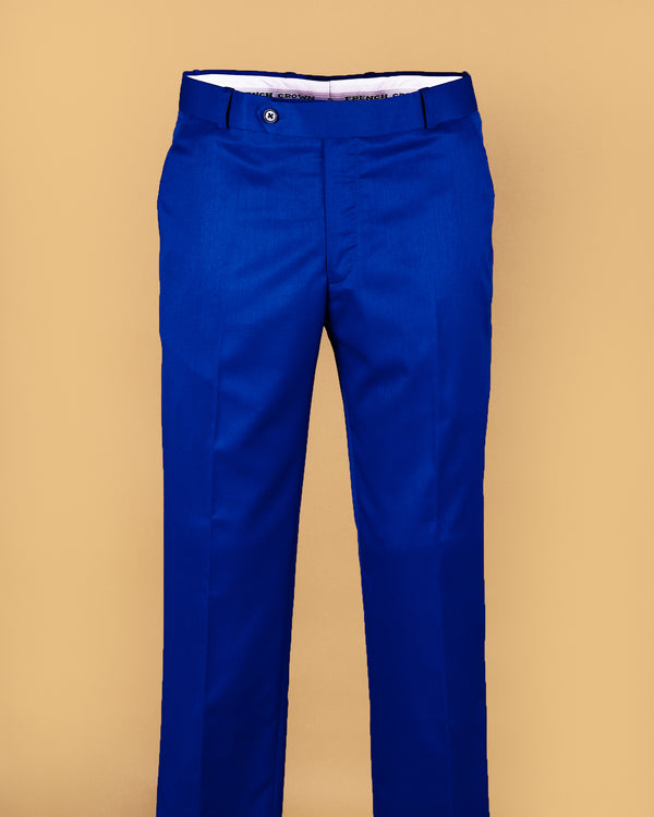 Ultramarine Tere-Rayon Formal Pant