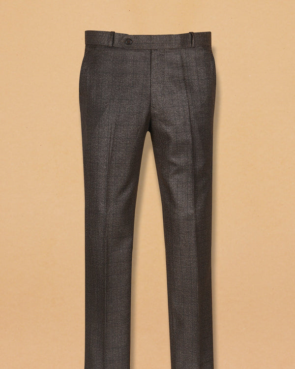 Gingerbread Subtle Glen Terry-Rayon Formal Pant