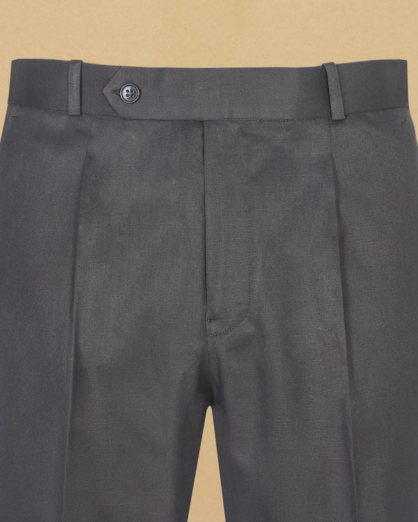 Lead Grey Formal Pant