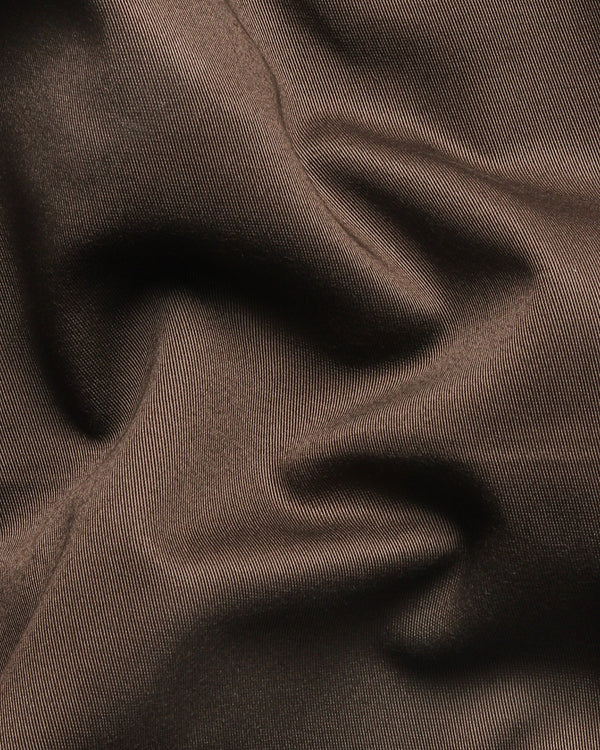Walnut Brown Cotton pant