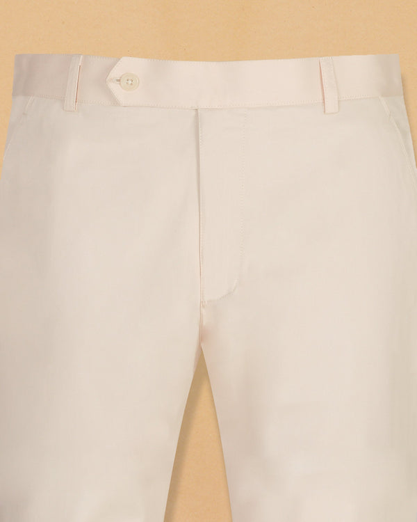 Buttery Cream Cotton Pant
