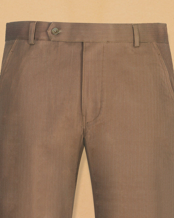 Tawny Khaki heavyweight Cotton Pant