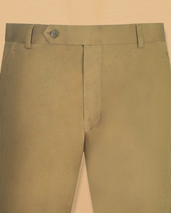 Khaki Cotton Pant
