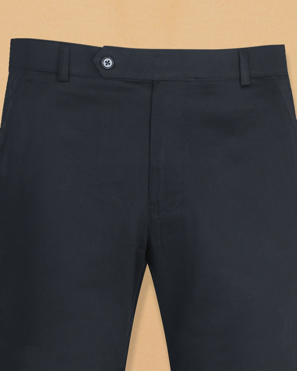 Navy Cotton Chino Pant