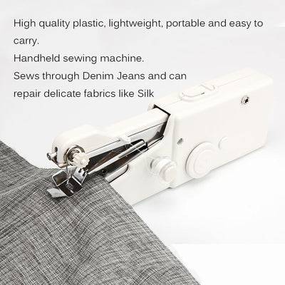 Sew-Handy™ Handheld Sewing Machine Mini Portable Electric Stitching - Giftigift
