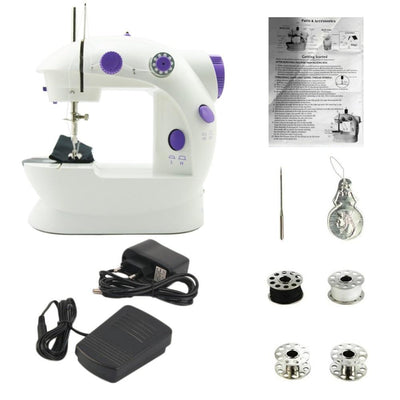 Sew-n-Sew™ Mini Sewing Machine Portable Tailoring And Stitching - Giftigift
