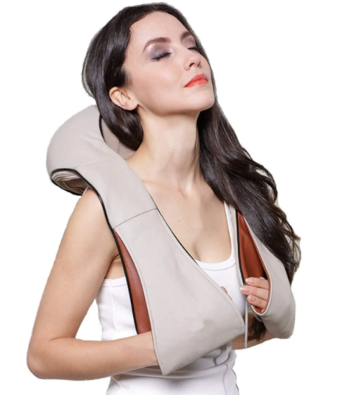 Shiatsu Neck Shoulder Back Leg Massager With Infrared Heating And Deep Kneading