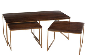 Table basse en 3 partie