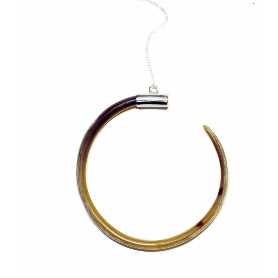 Sifa Bullhorn Necklace