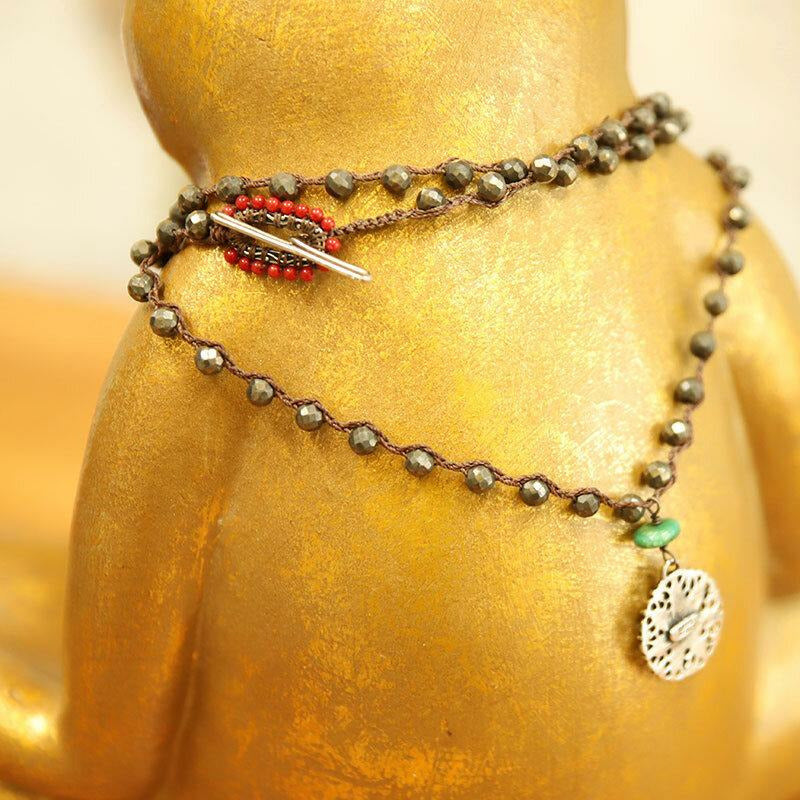 Star Pyrite Necklace