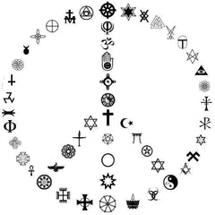 paix peace and love no religion