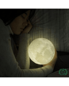 "Lampe ""Lune 3D"" - LED Rechargeable"