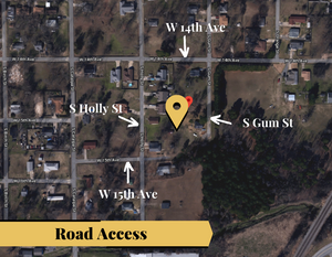 0.17 Acre in Pine Bluff, Arkansas 72004 - Own for $75 Per Month (Parcel Number: 930-02191-000)