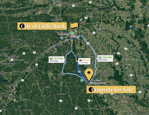 0.14 Acre in Pine Bluff, Arkansas 72004 - Own for $75 Per Month (Parcel Number: 930-44801-000) - Once Upon a Brick Inc. Land Investments
