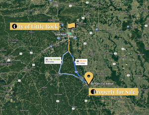0.19 Acre in Pine Bluff, Arkansas 72004 - Own for $75 Per Month (Parcel Number: 930-06646-000) - Once Upon a Brick Inc. Land Investments