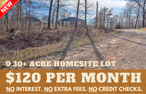 0.30 Acre in Bella Vista, Arkansas 72714 - Own for $120 Per Month! (Buildable Home Lot in Great Community) - Once Upon a Brick Inc. Land Investments