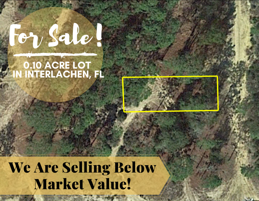 0.10 Acres in Putnam County, Florida 32148 - Own for $120 Per Month - Once Upon a Brick Inc. Land Investments