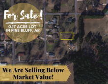 Load image into Gallery viewer, 0.17 Acre in Pine Bluff, Arkansas 72004 - Own for $75 Per Month (Parcel Number: 930-02191-000)
