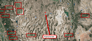 ELKO, NEVADA: 1.03 Acre, River Valley Raches Property - $59 down & $59 a month - Once Upon a Brick Inc. Land Investments