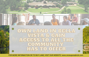 0.25 Acre in Bella Vista, Arkansas 72714 - Own for $99 Per Month! (Buildable Home Lot in Great Community) - Once Upon a Brick Inc. Land Investments