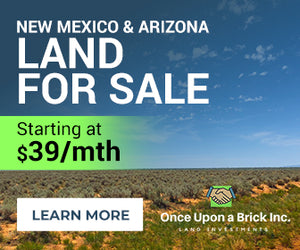 0.25 Acre in Los Lunas, New Mexico (Lot: 36) - Own for $39 Down, $39 Per Month - Once Upon a Brick Inc. Land Investments