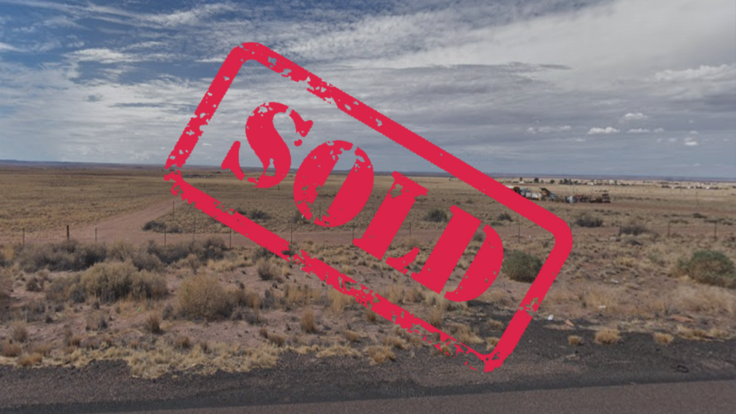 $59 Down! Quarter Acre Land Property - Sun Valley, Arizona (VEIN OF GOLD UNIT 5 LOT 207) - Once Upon a Brick Inc. Land Investments