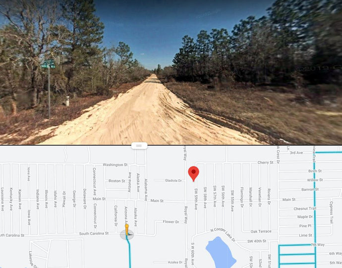 0.11 Acres in Putnam County, Florida 32148 (LOT 14, BLOCK 16, PARADISE VIEW ESTATES) - Own for $175 Per Month - Once Upon a Brick Inc. Land Investments
