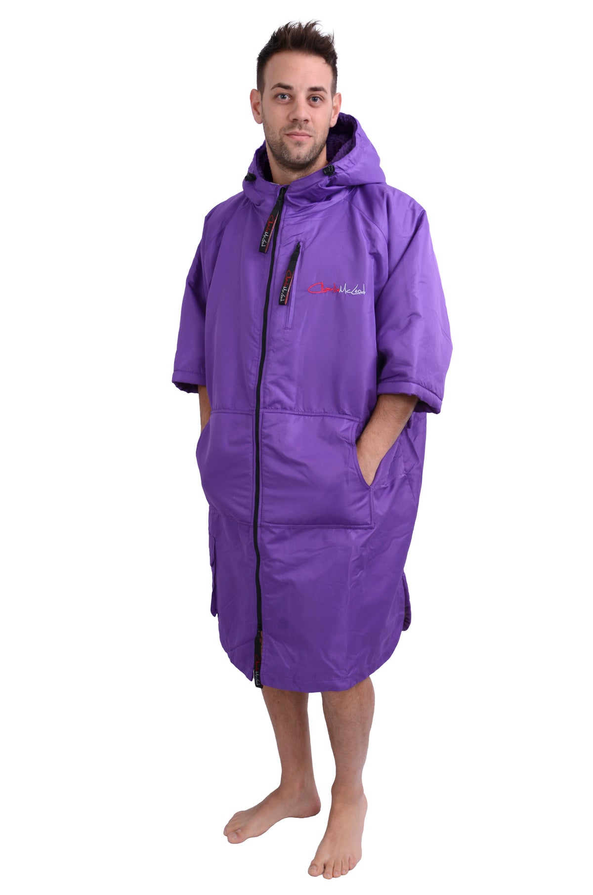 Sports Cloak Purple Purple