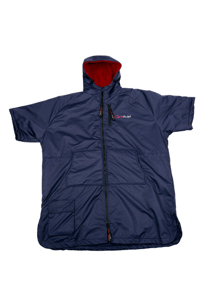 Sports Cloak Navy Red