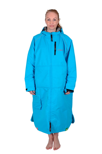 Eco Sports Cloak Long Sleeve Turquoise
