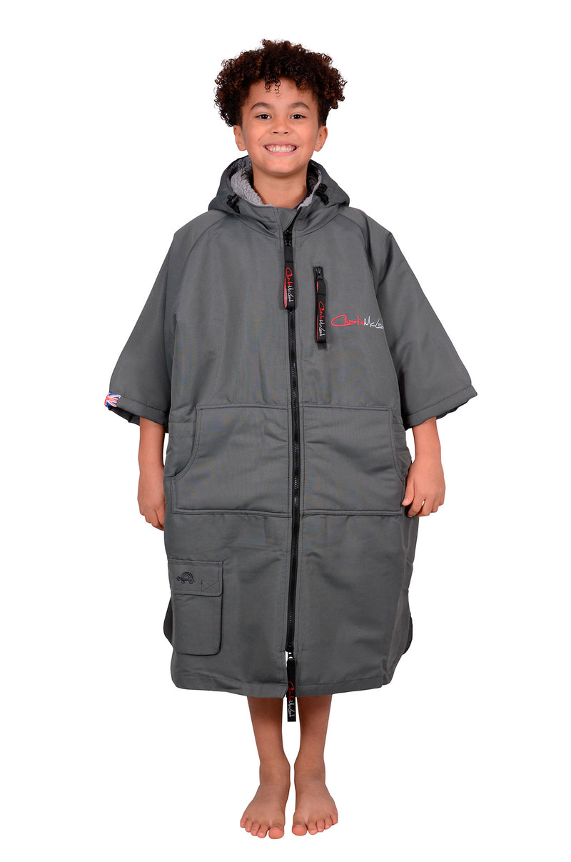 Children's Sports Cloak Charcoal Grey