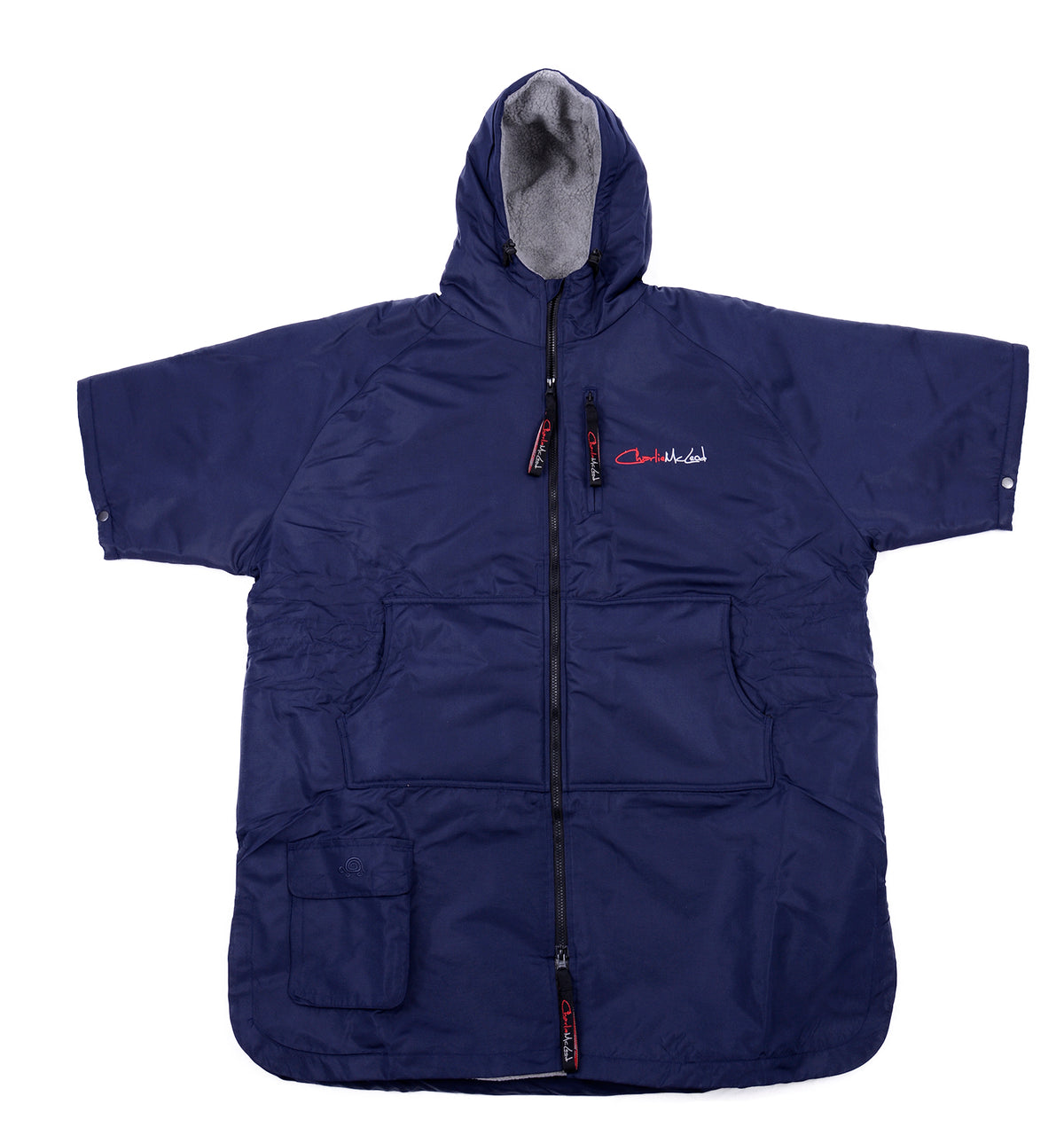 Children's Sports Cloak Navy Grey