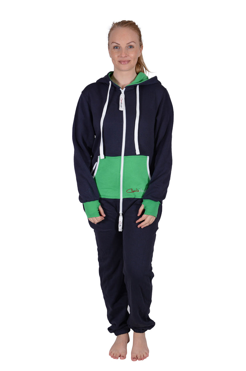 All New Onesie Navy Green