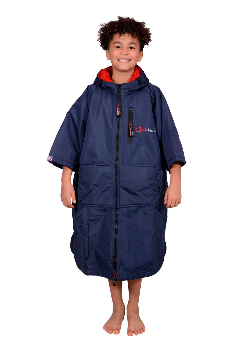 Children's Sports Cloak Navy Red