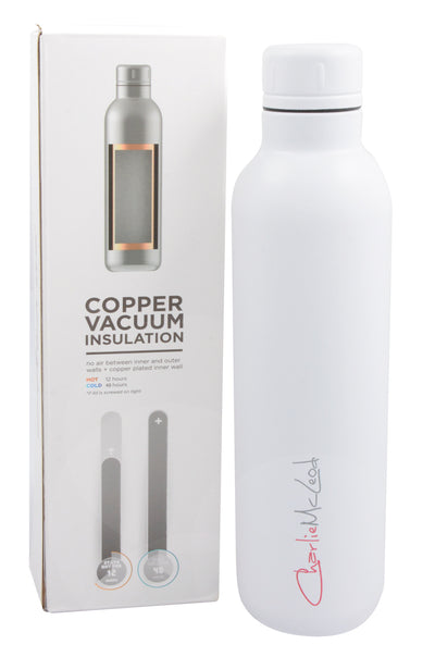 Vacuum Insulated Bottle White