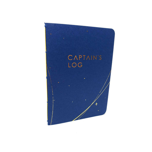 "Captain's Log Notebook 5"" x 7"""