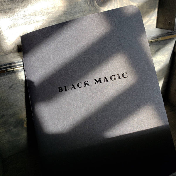 "Black Magic Notebook 5"" x 7"""