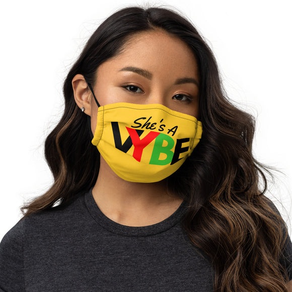 She's A VYBE - Premium face mask