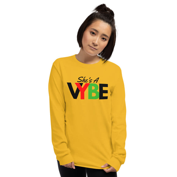 She's A VYBE - Long Sleeve Shirt