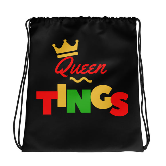 Queen Tings - Drawstring bag