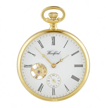Open Face Woodford Pocket Watch