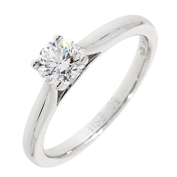Platinum 0.50ct Solitaire Diamond Ring